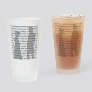 Pride and Prejudice Drinking Glass