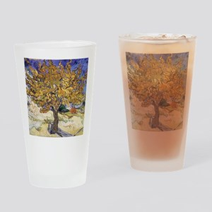 Mulberry Tree by Vincent Van Gogh Drinking Glass