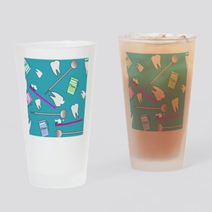 Dental Tools Drinking Glass