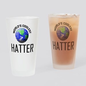 HATTER77 Drinking Glass