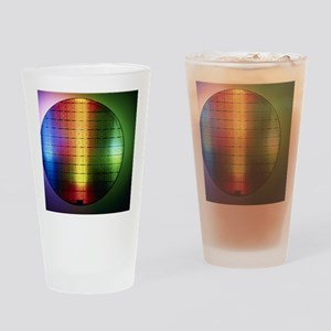 Semiconductor wafer Drinking Glass