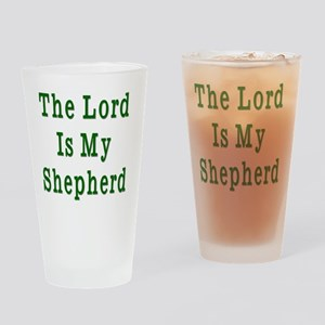 THe Lord is My Shepherd Drinking Glass