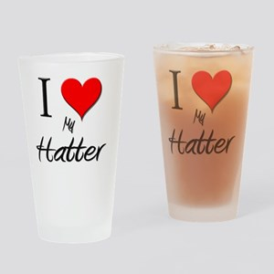 Hatter116 Drinking Glass