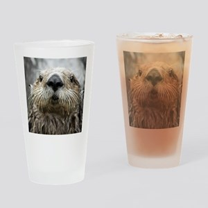 Sea Otter 11 Drinking Glass