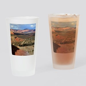 Burr Trail Canyon Drinking Glass