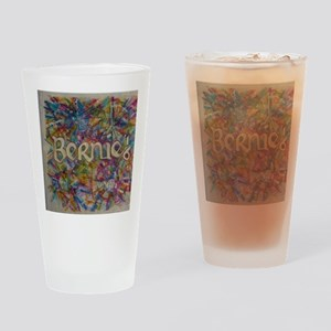 bernie 16 hippy 2 Drinking Glass