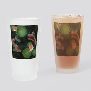 Koi Drinking Glass