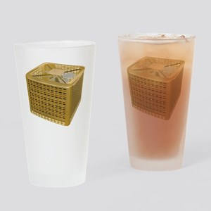Golden AC Drinking Glass