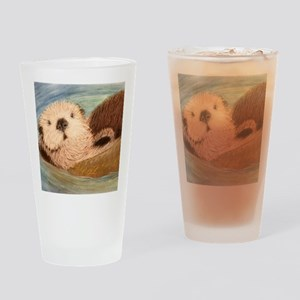 Sea Otter--Endangered Species Drinking Glass