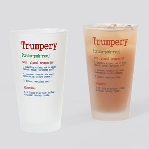 Trumpery Definition Drinking Glass