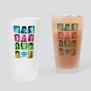Melrose Place Cast Drinking Glass
