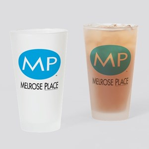 Melrose Place Logo Drinking Glass
