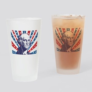 george washington Drinking Glass