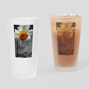 Daffodil Umbrella Drinking Glass
