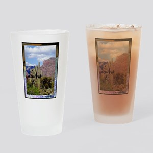 Desert Scene Drinking Glass