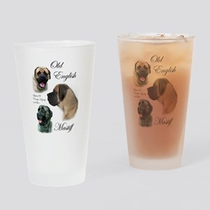 Old English Mastiff Pint Glass
