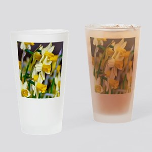 Yellow Daffodils Drinking Glass