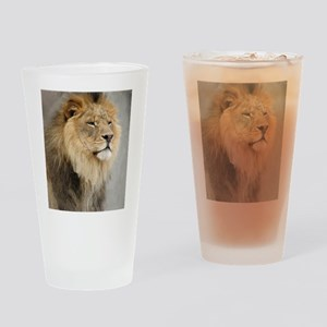 Lion Lovers Drinking Glass