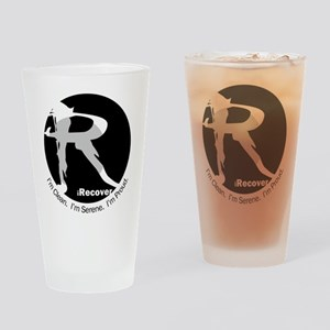 iRecover - Clean. Serene. Proud Drinking Glass