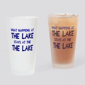 Happens at lake stays Drinking Glass