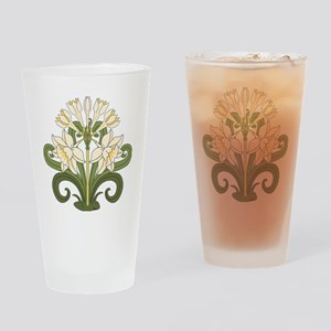 Daffodils Drinking Glass