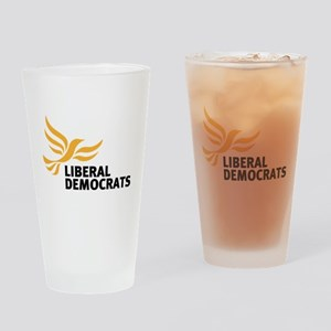 Liberal Democrats Drinking Glass
