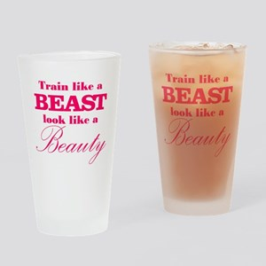 Train like a beast look like a beauty pink Drinkin