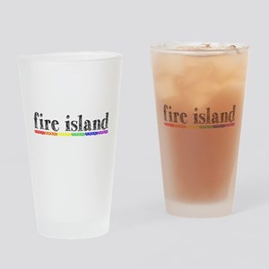 Fire Island Drinking Glass