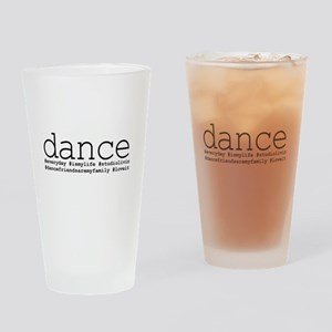 dance hashtags Drinking Glass