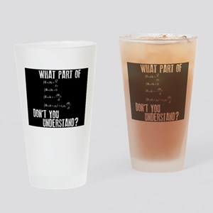 Maxwells Equations Drinking Glasses - CafePress