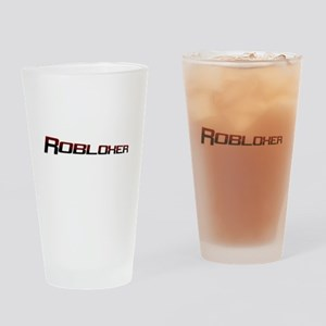Robloxerloo Drinking Glass