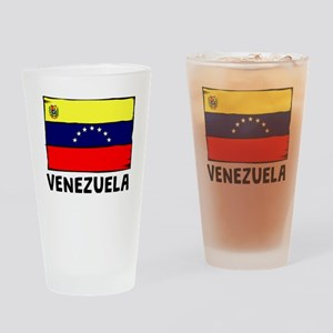 Venezuela Flag Drinking Glass