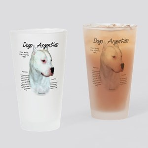 Dogo Argentino Drinking Glass