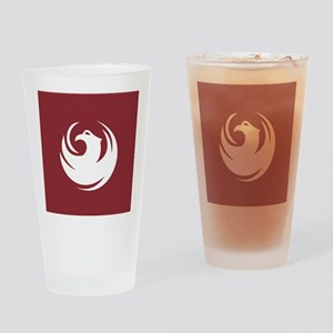 Phoenix Flag Drinking Glass