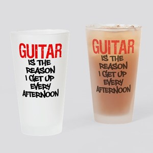 Guitar Reason I Get Up Drinking Glass