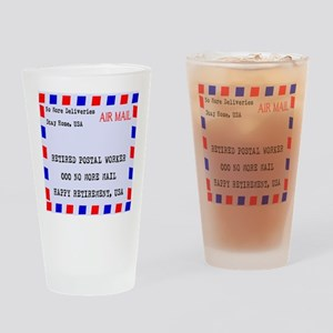 a88e35a79 Retired Postal Worker Drinking Glass