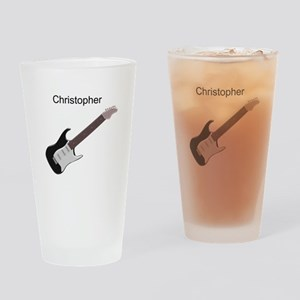 Electric Guitar Drinking Glass