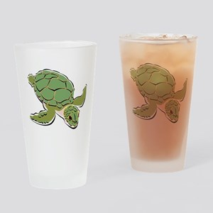 SEA TURTLE [2] Drinking Glass
