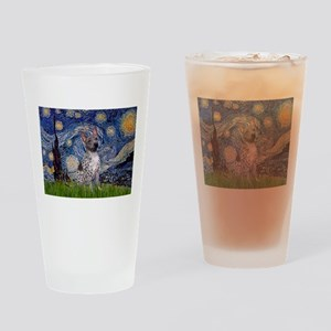 Starry-AmericanHairless T Drinking Glass