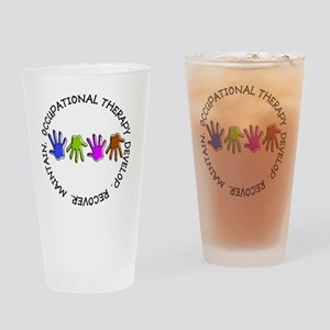OT CIRCLE Hands Drinking Glass