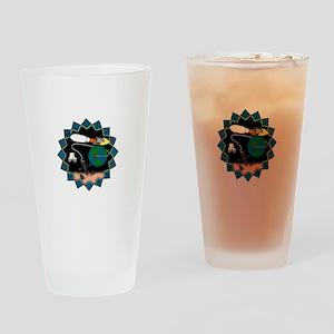 MUOS-3 Drinking Glass