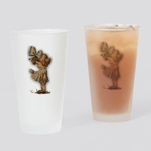 antique easter Drinking Glass