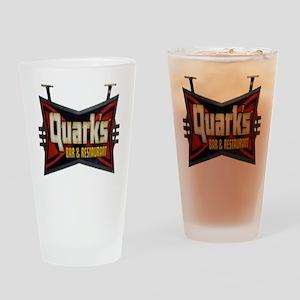 Quarks Bar Drinking Glass