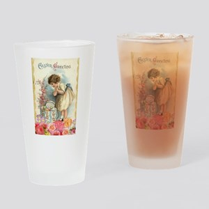 victorian easter Drinking Glass