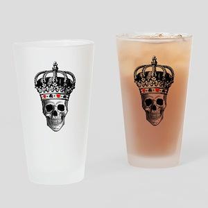 Gambling King Drinking Glass
