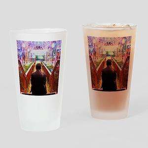 Frank in Wonderland Drinking Glass