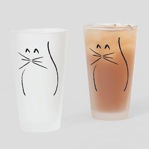 Kitty Cat Drinking Glass