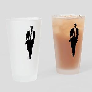 bigobama Drinking Glass