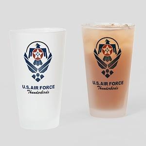 USAF Thunderbird Drinking Glass