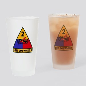 2nd AD Drinking Glass